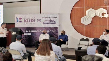 Se compromete Mauricio Kuri con el Colegio de Arquitectos