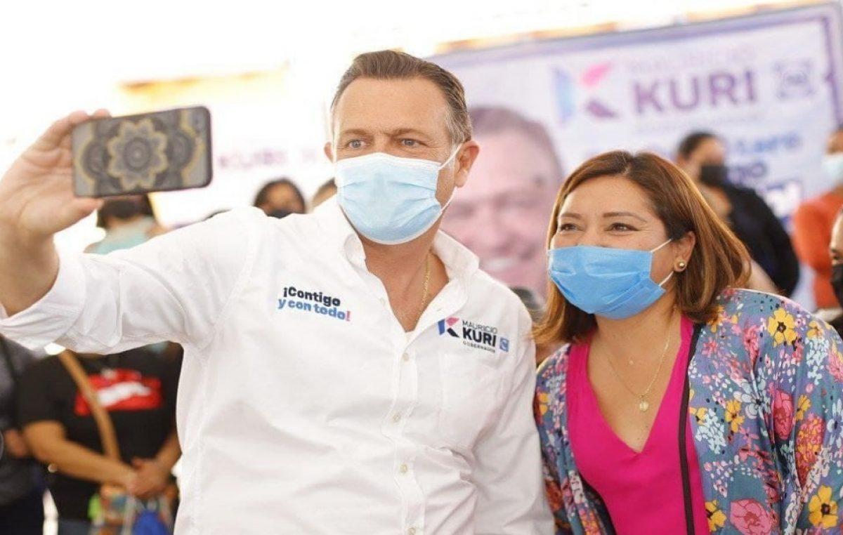 El motor de Querétaro son las mujeres: Mauricio Kuri
