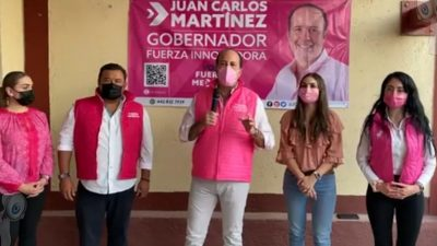 Nombra Fuerza México a Ricardo Badillo como candidato a la alcaldía de SJR