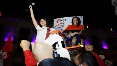 Seré la gobernadora del cambio valiente: Abigail Arredondo