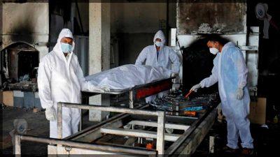 Sobrepasa India 300 mil muertes por covid-19