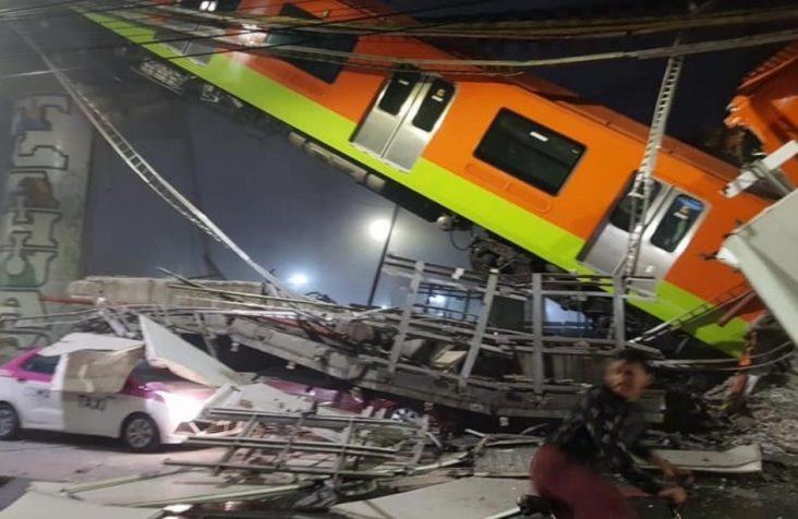 Se desploma estructura en Línea 12 del Metro CdMx