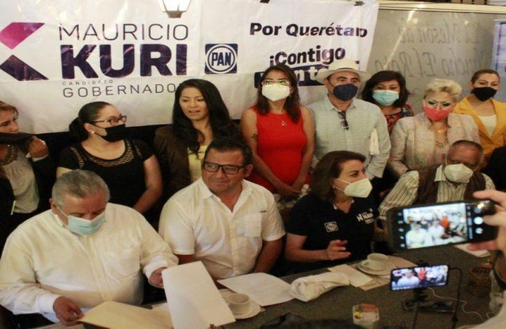 Fundador de MORENA en Querétaro se suma a la campaña de Mauricio Kuri