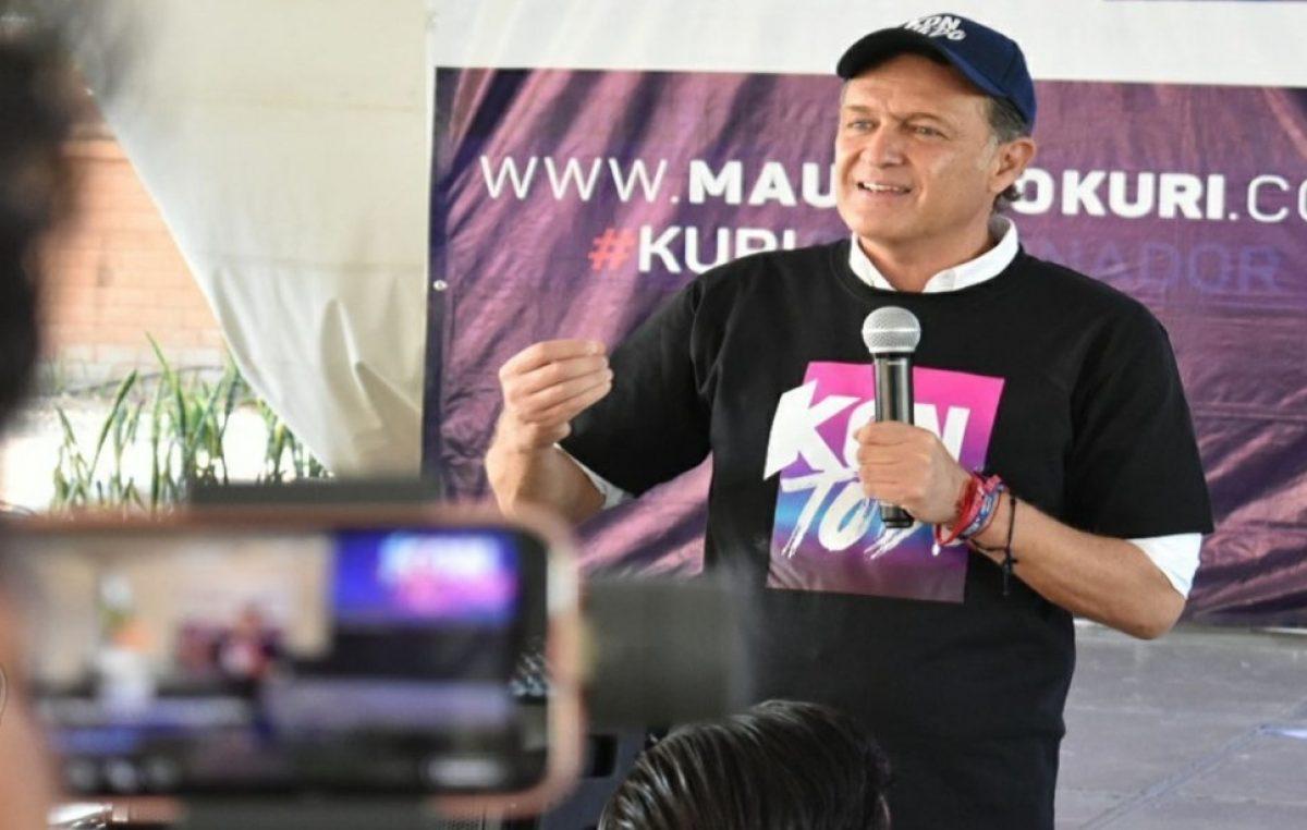 Es el momento de los jóvenes: Mauricio Kuri