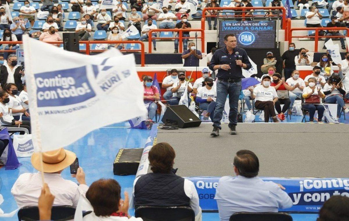 En San Juan del Río se formará un equipo ganador: Kuri