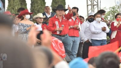 En mi gestión construiré 50 km de red de agua potable: Gustavo Nieto Chávez