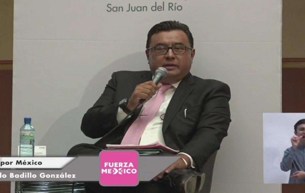 Ricardo Badillo participa en debate con propuestas claras