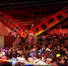 Declaran tres días de luto nacional por la tragedia en la Línea 12 del Metro