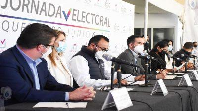 Solo el 52% del padrón electoral ejerció su voto en el estado de Querétaro