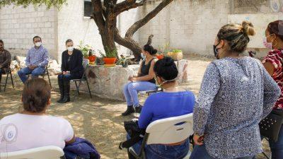 Supervisa DIF Estatal proyectos de Desarrollo Comunitario en ocho municipios