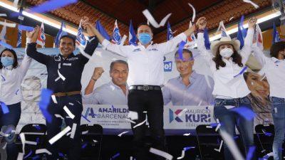 Trabajaremos juntos por un mejor Pedro Escobedo: Mauricio Kuri