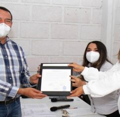 Recibe Roberto Cabrera constancia de mayoría como Presidente Municipal electo de SJR