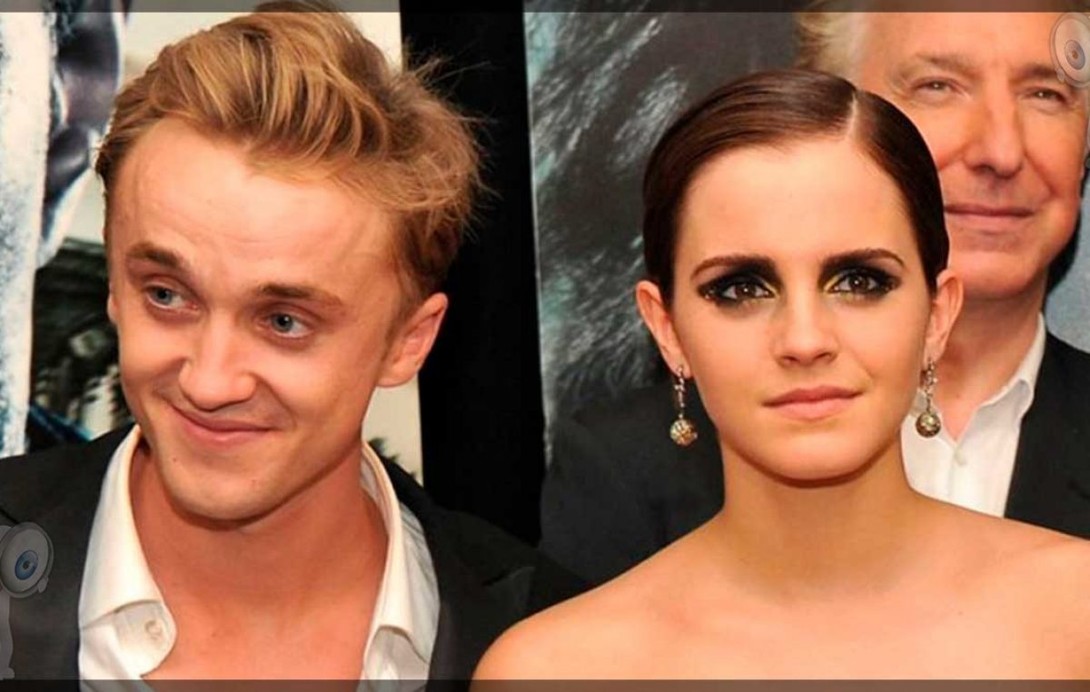 Tom Felton responde a los rumores de romance con Emma Watson