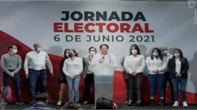 Morena dice tener ventaja irreversible en siete estados
