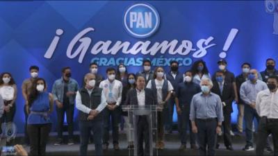 PAN gana con amplia ventaja en Querétaro: Marko Cortés