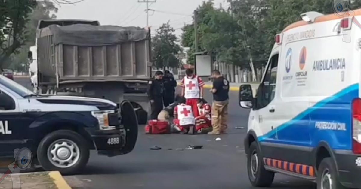 Muere mujer al ser atropellada en Paseo Central