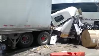 Carambola deja un muerto en la México – Querétaro