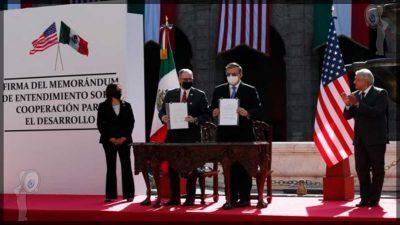 México y EEUU sellan un memorándum de cooperación migratoria