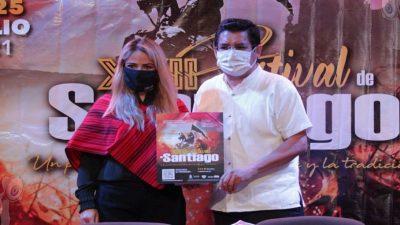 Presentan XXII Festival Santiago del 21 al 25 de julio