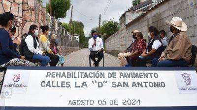 Fortalece gobierno municipal infraestructura urbana en La D