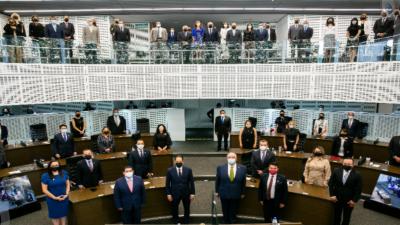 Presentan Tercer Informe de actividades de la LIX legislatura del estado