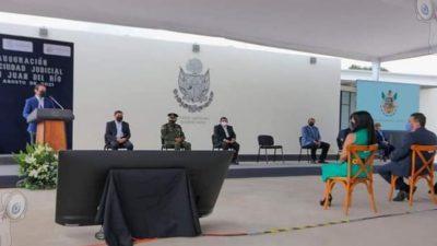 Inauguran autoridades Ciudad Judicial en San Juan del Río