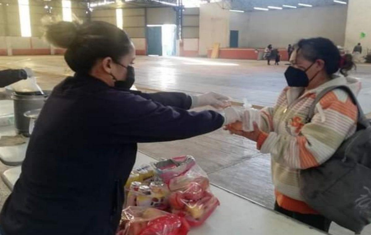 Brindan apoyo a familias que hicieron uso de albergue por evacuaciones en SJR