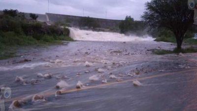 Tequisquiapan en semáforo naranja Presa Centenario rebaza capacidad