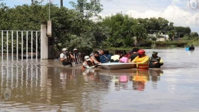 Ratifica gobernador apoyo a habitantes de Huimilpan, SJR y TX por afectaciones de lluvias