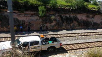Persona cae a las vías del ferrocarril en Loma Linda