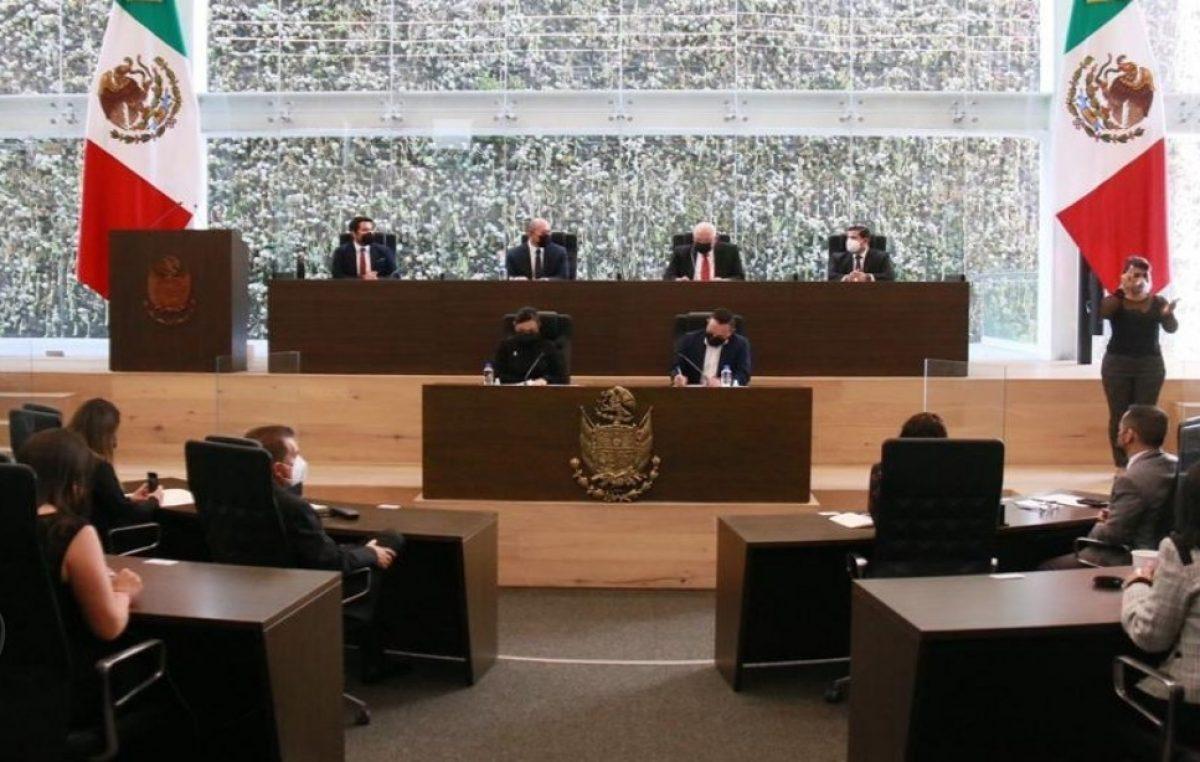 LIX Legislatura recibe Informe de Actividades del Poder Judicial del Estado