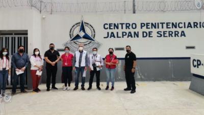 CNDH supervisa y evalúa centros penitenciarios de Querétaro