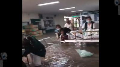 Por inundaciones fallecen pacientes de hospital del IMSS en Tula