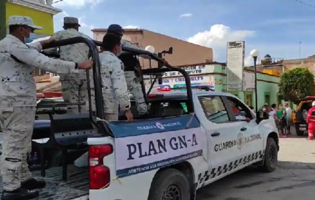 Evacúan a familias en Ixmiquilpan y Tula por nuevo desbordamiento de río