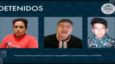 Detienen a tres sujetos por presunto robo de vehículos en SJR