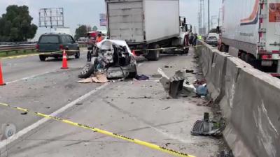 Trágico accidente deja un muerto y varios lesionados en la 57