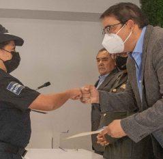 Encabeza Memo Vega graduación de la XIV generación de policías