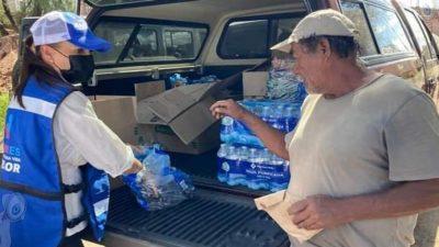 Marcia Solórzano presentará acuerdo para declaratoria de emergencia para apoyar a las familias afectadas por inundaciones en