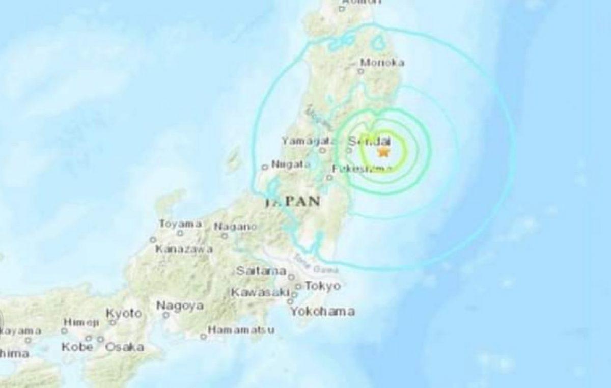 Sismo de 6.1 sacude centro de Japón