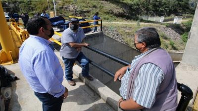 Instruye alcalde monitoreo de 24 horas para presa derivadora Lomo de Toro