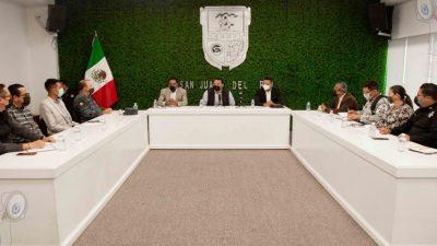 Encabeza Roberto Cabrera mesa regional en materia de seguridad