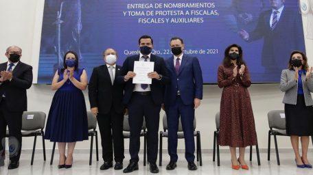 La suma de voluntades contra la impunidad es la ruta para llevar a Querétaro al siguiente nivel: MKG
