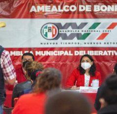 Dan inicio trabajos rumbo a la 23 Asamblea Nacional del PRI en Querétaro