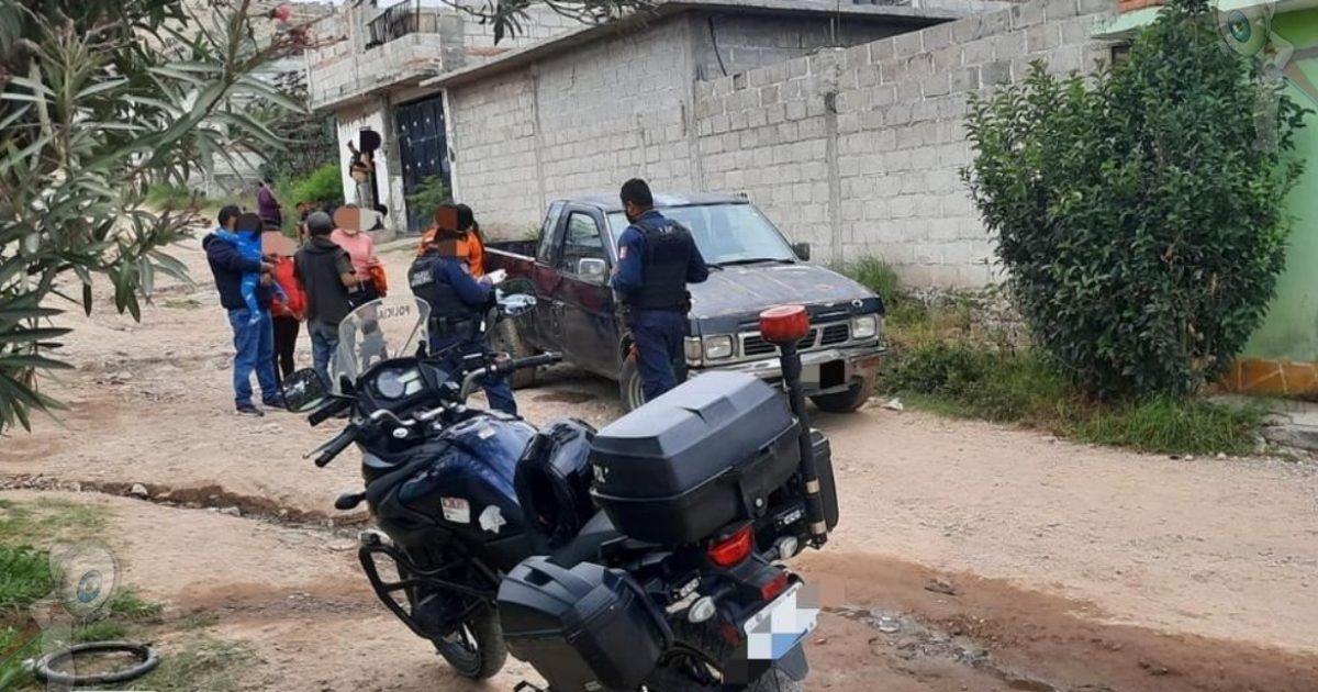 Recuperan camioneta con robo en la comunidad de La Estancia
