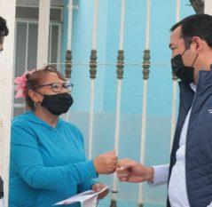 Inicia SEDESOQ entrega de apoyos a familias afectadas por contingencia pluvial en SJR
