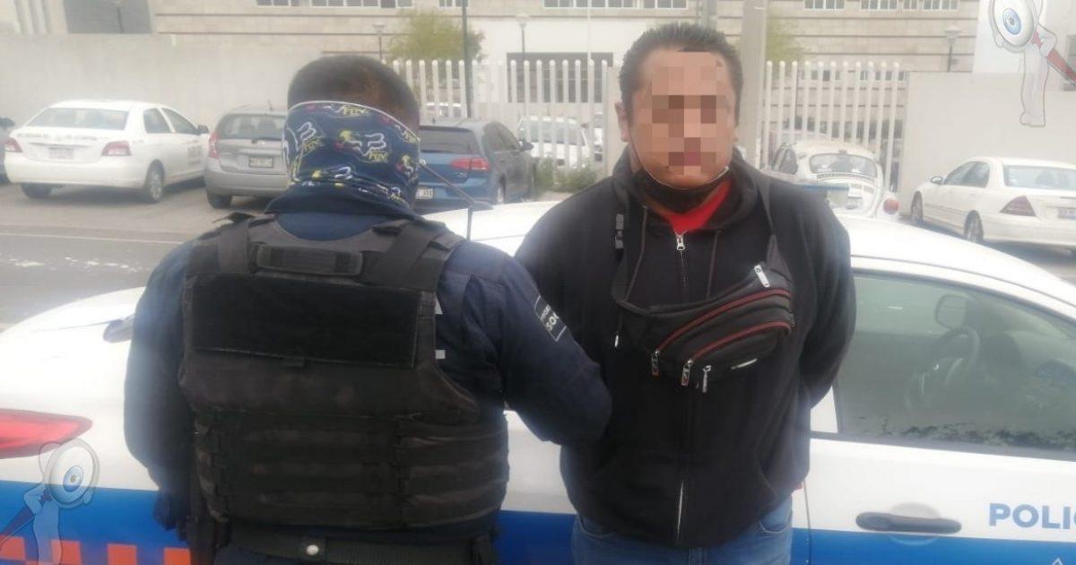 Detenido por supuesto robo a comercio en San Juan del Río