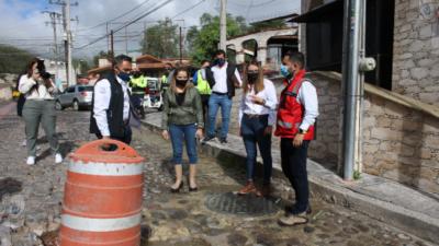 Supervisa SECTUR zonas turísticas afectadas por lluvias